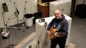 Steve Polyak at Weird Signals studio